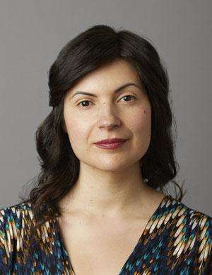 Mona Awad, portrait.